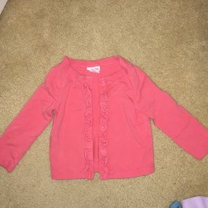 Coral girls' sweater size 24 months